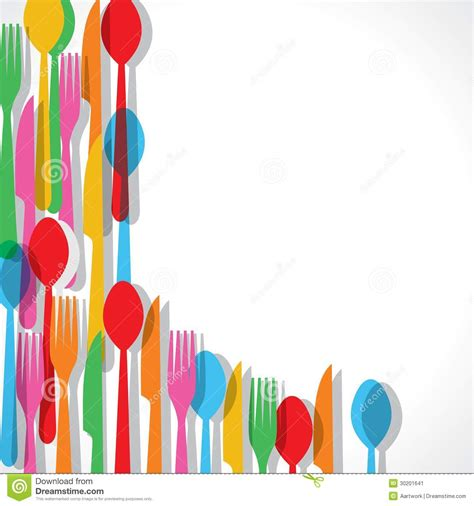 %name Colorful Silverware   Encourage Your Children?s Meals with Silverware Fun