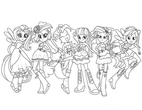 free coloring pages equestria mermaid