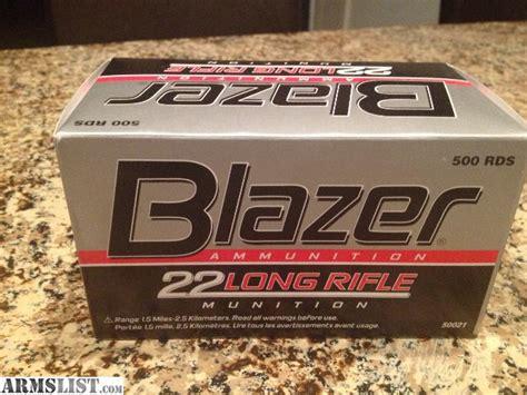 blazer 22lr ammo 500 brick object moved