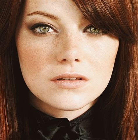 emma stone ginger emma stone green eyes and redheads on pinterest