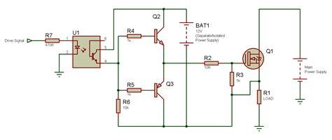 transistor fet driver tahmid s n channel mosfet high side drive when why and how