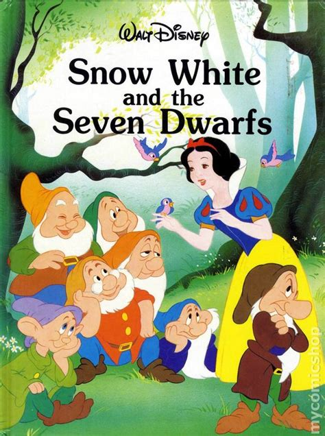 snow white story book with pictures snow white and the seven dwarfs hc 1986 disney storybook