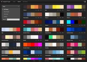 web color schemes web page color combinations exles of for