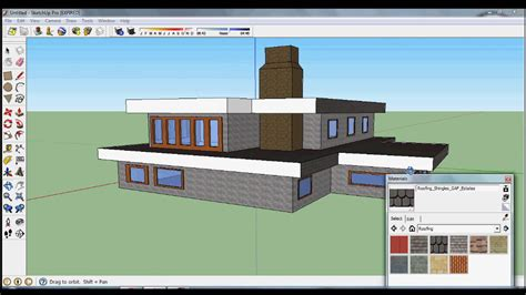 sketchup speed design house