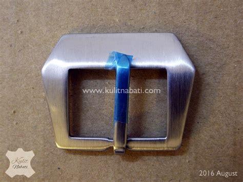 Gunny Custom Jam Tangan 26mm buckle jam str 028 kulitnabati bahan kulit nabati