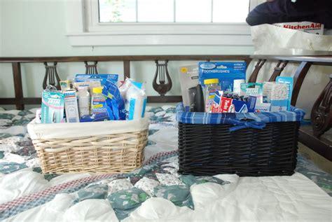 wediquette  parties bathroom baskets   party guests
