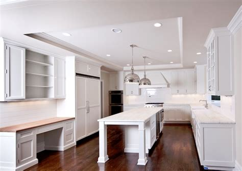 Mini Pendants Lights For Kitchen Island by White Kitchen Transitional Kitchen Milton Development