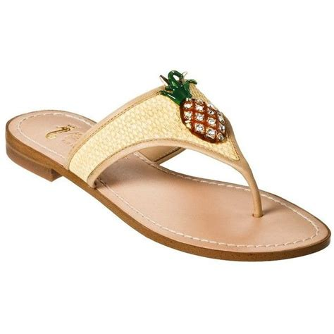 sandals target pineapple flat sandals target