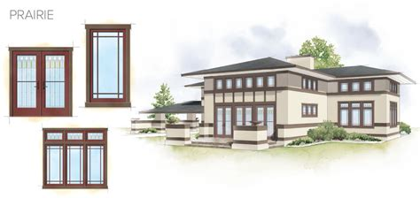 windows styles for houses prairie style homes windows home design and style