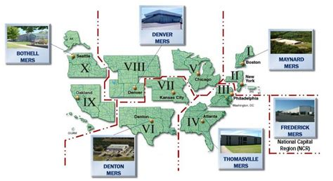 fema cs usa map fema regions homeland security
