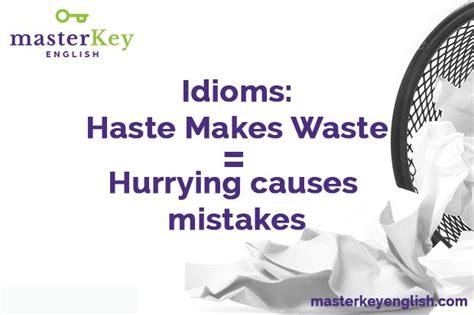 Haste Makes Waste by News Archivos Masterkey
