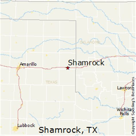 shamrock texas map best places to live in shamrock texas