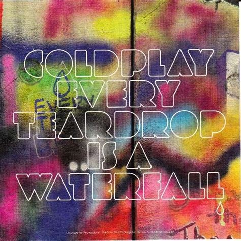 every teardrop coldplay download mp3 every teardrop is a waterfall promo by coldplay cds with