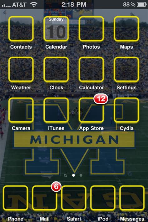 themes for mi repo michigan football theme