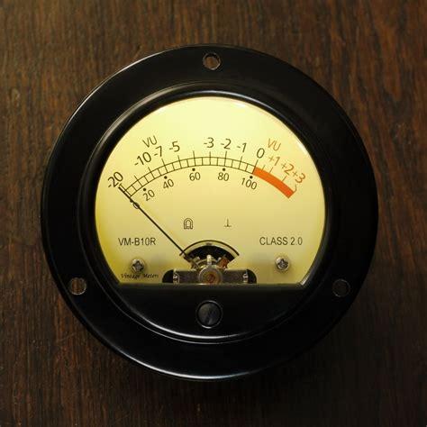Lu Led 1 Meter vintage meters vm b10r led 1ma retro vu meter led illuminated 48 51