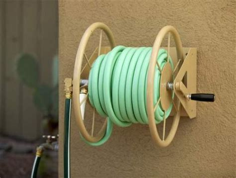 wall mounted hose reels garden metal wall mounted metal garden hose reel outdoor decorations