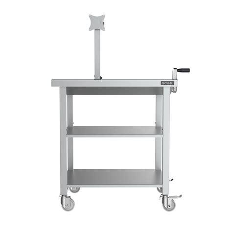 computer desk for disabled height adjustable computer desk