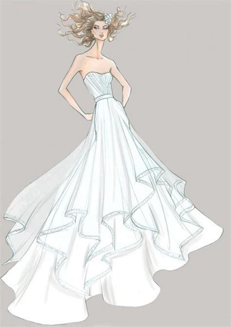 fashion illustration wedding dresses fashion design sketches of dresses 2016 2017 fashion trends 2016 2017