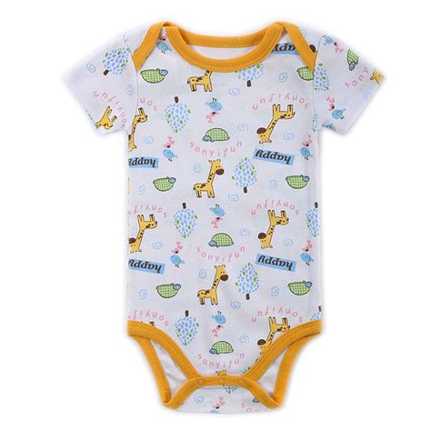 Clothes Baby 1 buy 1 pieces 2016 baby boys clothes next infant clothes cotton newborn baby rompers