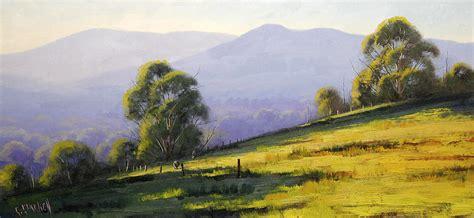 Landscape Paintings Australia Australian Landscape Painting By Graham Gercken
