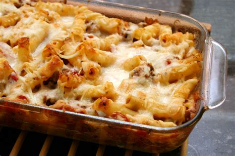 easy baked ziti with three cheeses recipe