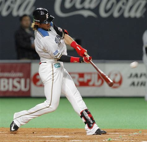 great baseball swings yoh happy to carry on tradition as fighters showman the
