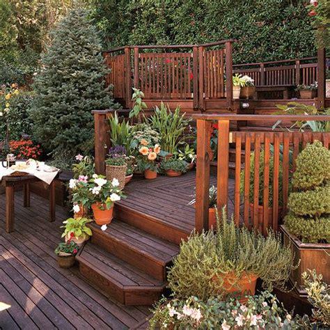 triyae com decorating ideas for backyard deck various triyae com deck ideas for steep backyard various