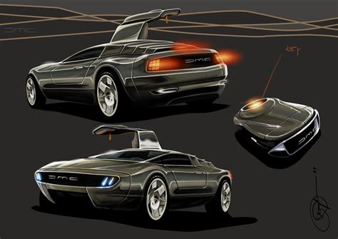Delorean Dmc 12 Concept by Delorean Maio 2011