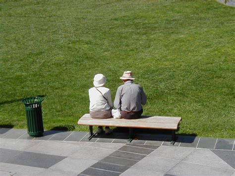 old couple on bench free old couple on bench stock photo freeimages com
