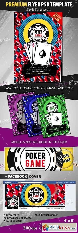 Poker Psd Flyer Template 2 187 Free Download Photoshop Vector Stock Image Via Torrent Zippyshare Flyer Template Psd 2