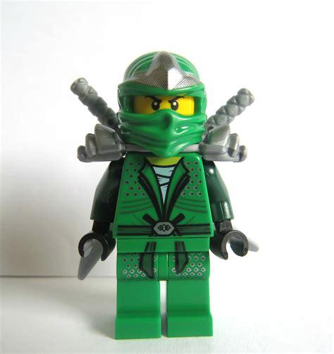 Lego Ninja Motorrad by Lego Ninjago Green Lloyd Ninja Minifigure Figure Silver