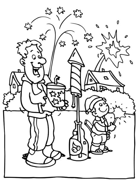why is the new year color firework coloring pages az coloring pages