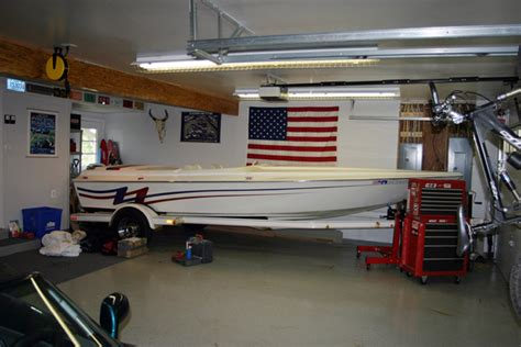 boat garage what boat can i fit in my 25 garage page 3