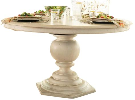 paula deen home pedestal table paula deen home pedestal table in linen code univ20