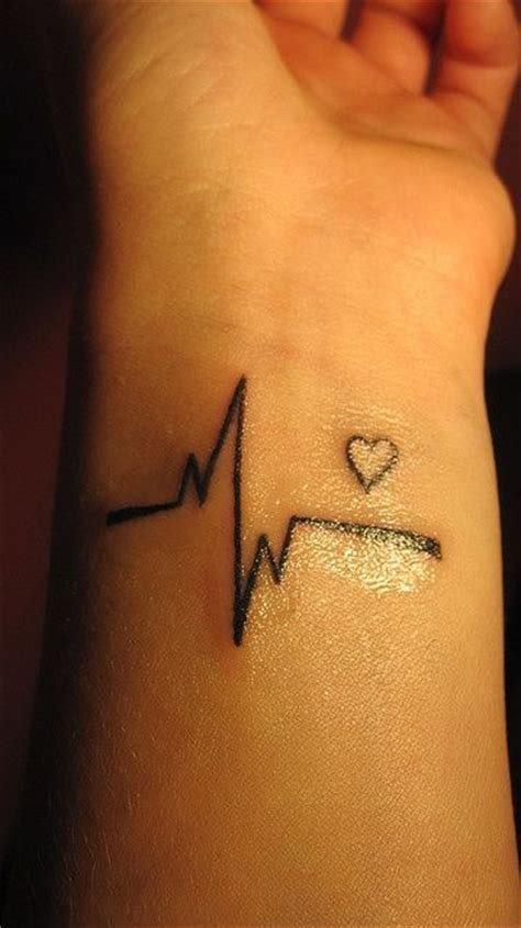 ekg tattoo placement love this one tattoos pinterest tattoo piercings