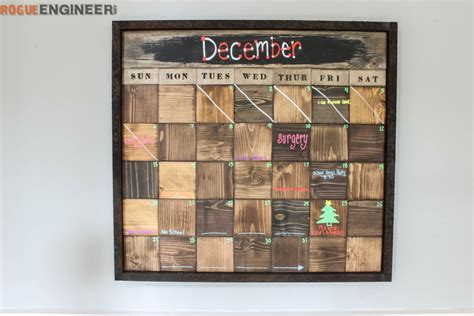 Block Calendar Wood Block Calendar 187 Rogue Engineer