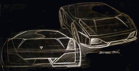 Sketch Of Lamborghini Gallardo Lamborghini Gallardo Design Sketch 11 Supercar Sketches