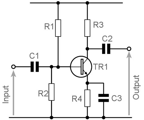 transistor lifier ac common emitter lifier design electronics notes