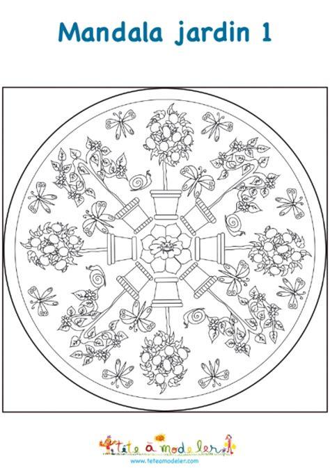 mandala jardin pots de fleurs mandala t 234 te 224 modeler