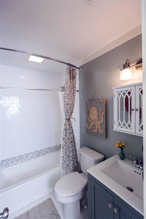 diy tiny bathroom remodel 20 small bathroom before and afters hgtv