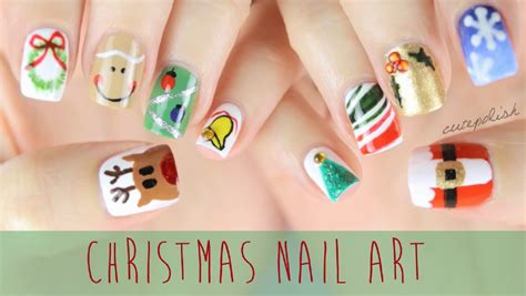 easy nail art by cutepolish nail art for christmas the ultimate guide 2 youtube