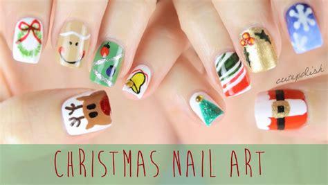 easy nail art cutepolish nail art for christmas the ultimate guide 2 youtube