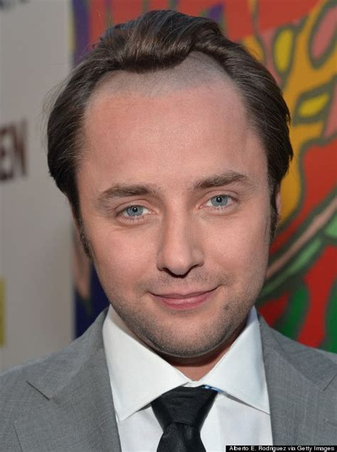 receiding hair hairstyle actor vincent kartheiser s hairline is rather unfortunate