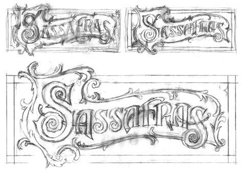 graphic design rough layout alphabet soup blog 187 blog archive 187 the sassafras logo