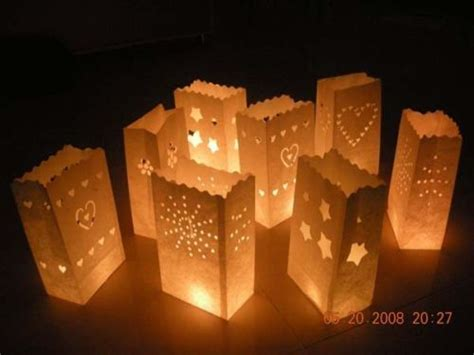 How To Make Paper Bag Lanterns - best 25 paper bag lanterns ideas on candle