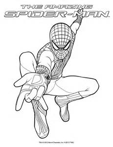 Spider 2 Coloring Pages coloring sheet the amazing spider in theatres july 3 2012 the amazing spider