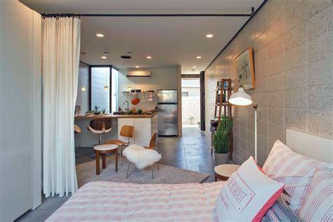 studio apartment curtain divider 12 perfect studio apartment layouts that work