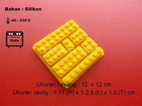 Cetakan Silikon Half 15 Cav Diskon cetakan silikon coklat puding building brick b cetakan jelly cetakan jelly