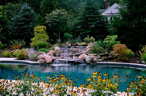 pool landscaping pictures how to drain a pool by yourself