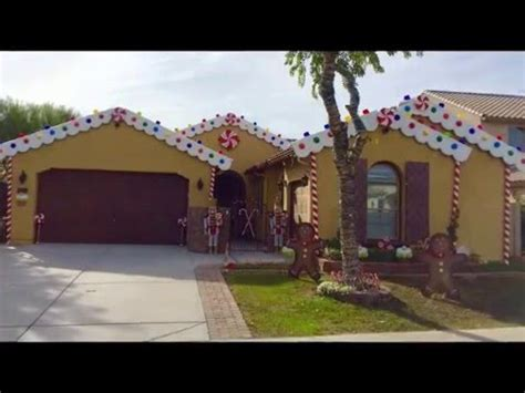 How To Decorate House For Christmas diy christmas decorating ideas gingerbread house candyland